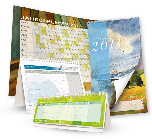 Kalender-Portfolio